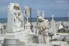 Cementerio Santa Maria Magdalena de Pazzis en El Viejo San Juan, Puerto Rico