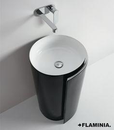 Roll – lavabo / basin - Nendo 2010 #CeramicaFlaminia #design