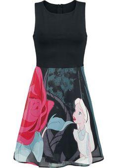 Flower - Kurzes Kleid von Alice im Wunderland