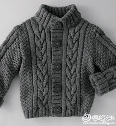 35 Ideas for knitting sweaters for boys baby vest Knitting Patterns Boys, Baby Cardigan Knitting Pattern, Baby Boy Knitting, Knitted Baby Cardigan, Knit Baby Sweaters, Boys Sweaters, Knitting For Kids, Knitting Designs, Free Knitting
