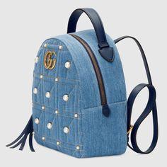 Women - Handbags - Backpacks for Women Denim Backpack, Denim Bag, Fashion Backpack, Ankara Bags, Leather Bag Design, Cute Mini Backpacks, Diy Bags Purses, Popular Handbags, Diy Handbag