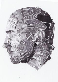 Brave New World illustration Martha Williams technology face portrait