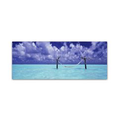 The Hammock 3 by David Evans Photographic Print on Wrapped Canvas