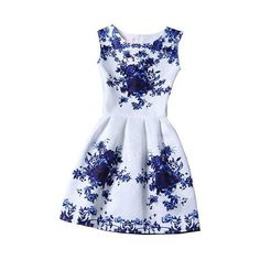 New Arrivals Vestidos 2017 Summer O-Neck Sleeveless Print Casual Dresses Women Vintage Princess Dress Ladies Party Clothing Sexy Dresses, Lace Summer Dresses, Elegant Dresses For Women, Summer Dresses For Women, Women's Fashion Dresses, Chiffon Dresses, Lace Dress, Floral Dresses, Dress Long