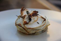 Roasted Turnip Stacks - This makes a great side dish to a tasty main or roast dinner.