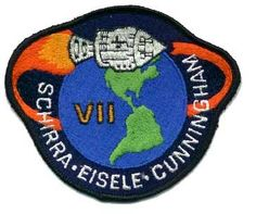 space mission patches | Apollo 7 Mission Patch