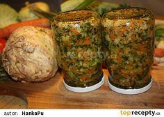 Polévková zelenina na zimu Kimchi, Preserves, Baked Potato, Pickles, Zucchini, Cabbage, Muffin, Paleo, Potatoes