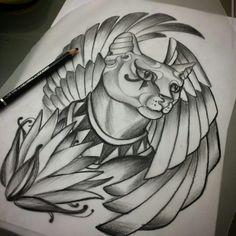 Bast tattoo idea/drawing