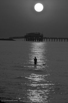 In the Glow...from Galveston Island