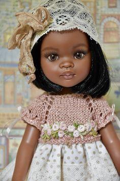 """OOAK Paola Reina Nathalie 13"""" - 33cm vinyl doll repainted by LauraCortiDolls"""