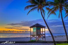Sunrise in Deerfield Beach, Florida.