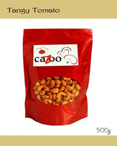 Flavoured Cashew Nuts, Dry Fruits, Cazootree, Tangy Tomato Cashew Nuts