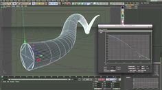 Grow an object over time in Cinema 4D