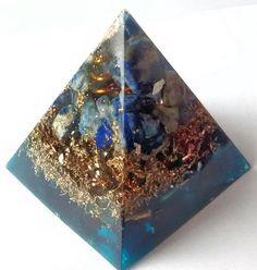 Now selling: Orgone Energy Healing Pyramid -  EMF Protection Lapis Lazuli   and Shungite https://www.etsy.com/listing/526921718/orgone-energy-healing-pyramid-emf?utm_campaign=crowdfire&utm_content=crowdfire&utm_medium=social&utm_source=pinterest
