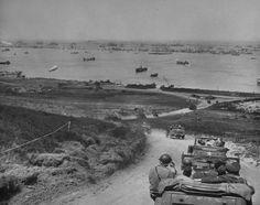 Playa Omaha, Fox Green Sector, Colleville-sur-Mer, 1944.