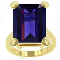 Gold Taylor Tanzanite Ring $49.95