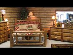 How to build a log bed tutorial log bed design how to for Camas rusticas