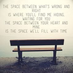 A #meme I created from some of my favourite lyrics from the Dave Matthew Band - The Space Between.