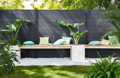 Precious Tips for Outdoor Gardens - Modern Outdoor Sofa, Outdoor Furniture Sets, Shed Landscaping, Living Room Green, Zen, Organic Gardening, Terrazzo, Relax, Landscape