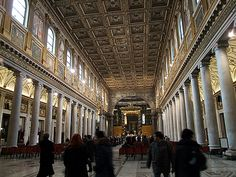 Nave, Santa Maria Maggiore, Roma