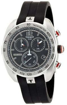 Tissot PRS 330 Chronograph Black Dial Mens Watch T0764171705700 Tissot. Save 33 Off!. $488.36. Water Resistance : 10 ATM / 100 meters / 330 feet. Black Rubber Strap. Chronograph Display
