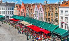 Here's how to seek out Europe's up-and-coming foodie destinations. From the Belgian city of Bruges to the Albanian town of Lezhe, there are a host of gems off the beaten track waiting to be discovered. Bruges Lace, Grand Hotel, Sicily, Old Town, The Locals, Mail Online, Daily Mail, Destinations, Street View
