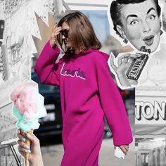 Las hoodies se han apoderado del street style y del clóset de muchas IT girls. Tú ya te sumaste a esta tendencia? Esta pieza te servirá durante distintas ocasiones ya sea para un look más casual y sporty o un fit oversize como esta versión en vestido de Lacoste que usó Eleonora Carisi durante el Fashion Week de NY. #Ellelookdeldía #Ellemx  via ELLE MEXICO MAGAZINE OFFICIAL INSTAGRAM - Fashion Campaigns  Haute Couture  Advertising  Editorial Photography  Magazine Cover Designs  Supermodels…
