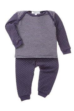 Joah Love Polka Dot Top & Bottom Set (Baby Girls) by Non Specific on @HauteLook