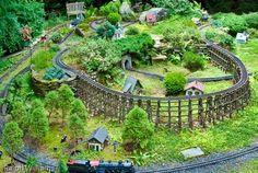 A true Garden Railway installed in 2001