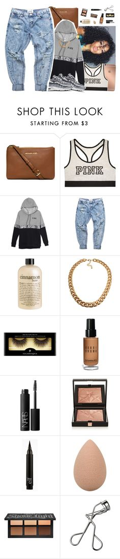 """""""Aug 8 🎛"""" by frezhstyle ❤ liked on Polyvore featuring Mura, MICHAEL Michael Kors, Victoria's Secret, NIKE, One Teaspoon, philosophy, Illamasqua, Bobbi Brown Cosmetics, NARS Cosmetics and Givenchy"""