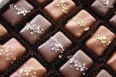 Fran's Chocolates Salted Caramels. The best chocolate around!