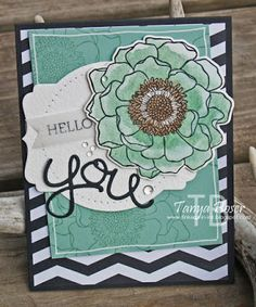 Tinkerin In Ink with Tanya: Stamp Review Crew: Blended Bloom Edition