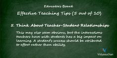 Effective Teaching Tips (Tip 5)