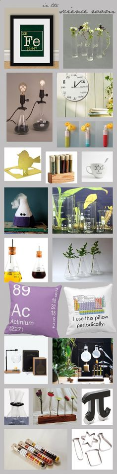 The Weekend Notebook: Scientific Inspiration - Vintage Science Nostalgia In Home Decorating