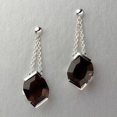 Smoky Quartz Jewelry   Home ›› Spectacular 8.02 CTTW Smoky Quartz Earrings