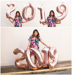 Class of 2019 senior photos number balloons lauren beesley photography Graduation Picture Poses, College Graduation Photos, Graduation Photoshoot, Graduation Pictures, High School Graduation Picture Ideas, Grad Pics, Graduation Ideas, Senior Photography Poses, Balloons Photography