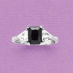 Ebony Twilight Ring | All Rings | Rings | Jewelry