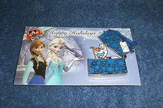 Disney DLR Happy Holidays 2014 FROZEN ELSA & ANNA PRESENTING OLAF GIFT BOX Pin