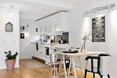 Plan deschis într-o garsonieră de 51 m² | Jurnal de design interior