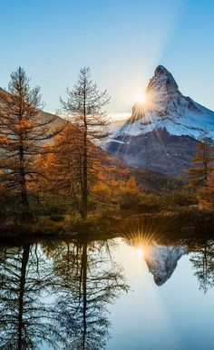 """Matterhorn Delight"" Pennine Alps, Switzerland 