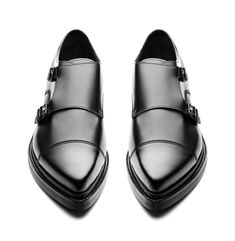 Acne Studios - Penn Black - Double Monk Strap