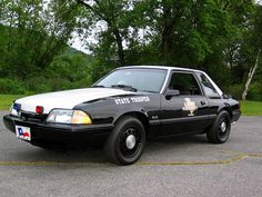 Texas DPS SSP Ford Mustang