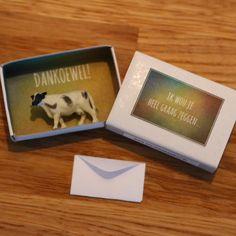 Dankoewel Matchbox Crafts, Matchbox Art, Jw Gifts, Party Gifts, Diy Presents, Hello Kitty, Diy Gifts For Boyfriend, Original Gifts, Birthday Treats