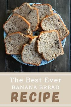 This homemade banana bread is so delicious and so easy to make. It's the perfect snack for a hungry family! #bananabread #homemadebananabread Homemade Banana Bread, Best Banana Bread, Banana Bread Recipes, Incredible Recipes, Holiday Recipes, Party Recipes, Barbecue Recipes, Pinterest Recipes, Air Fryer Recipes