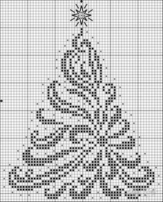 Resultado de imagen para christmas tree cross stitch patterns free