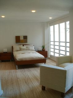 guest bedroom, Malibu Beach House, by angieaug