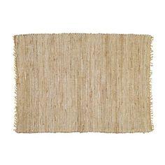 Tappeto intrecciato in cotone e iuta 140 x 200 cm LODGE