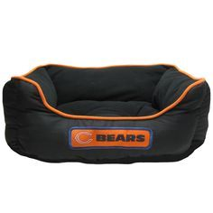 """Chicago Bears NFL   Pet Bed - 22"""" WIDE x 18"""" DEEP x 8"""" HIGH -My dog need this!"""