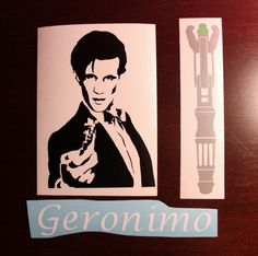 Doctor Who Eleventh Doctor Decal Set