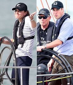 Kate Middleton Beats Prince William in Sailing Race on Royal Tour, April 11, 2014